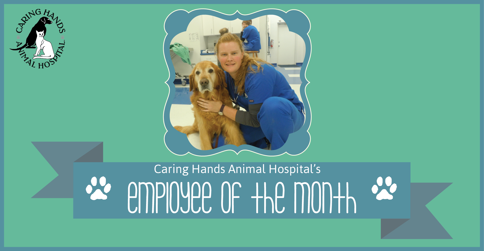 Employee of the Month - Megan Jensen